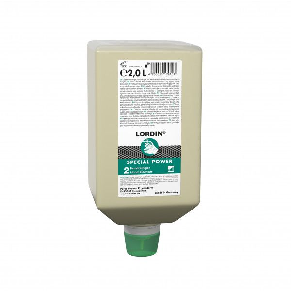 Spezialhandreiniger LORDIN® SPECIAL POWER, 2-L-Varioflasche