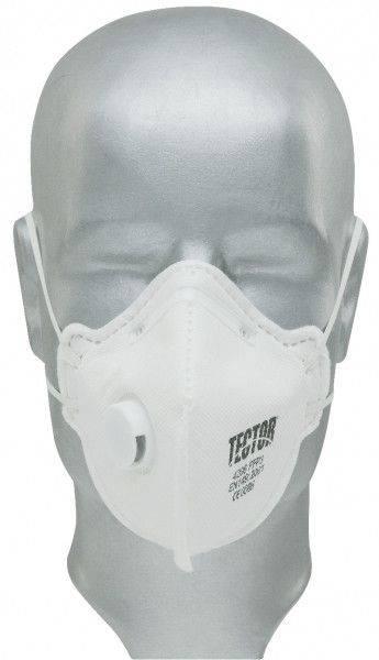 Feinstaub-Faltmaske TECTOR® P3, mit Ausatmungsventil