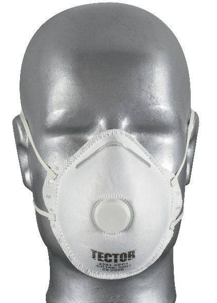 Feinstaubmaske TECTOR® P1, mit Ausatmungsventil