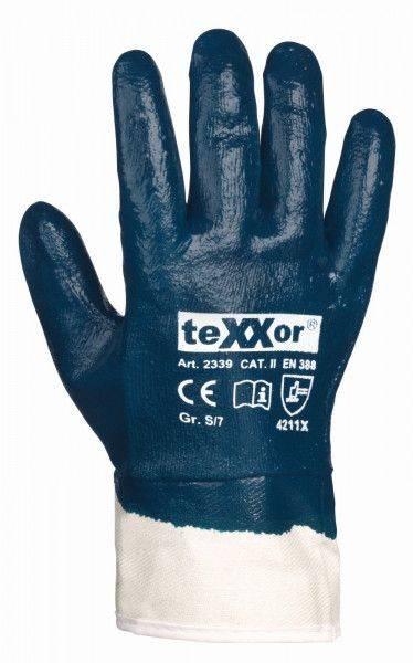 Nitril-Handschuh STULPE, vollbeschichtet