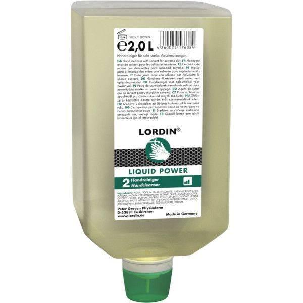 Handwaschpaste LORDIN® LIQUID POWER, 2-L-Varioflasche