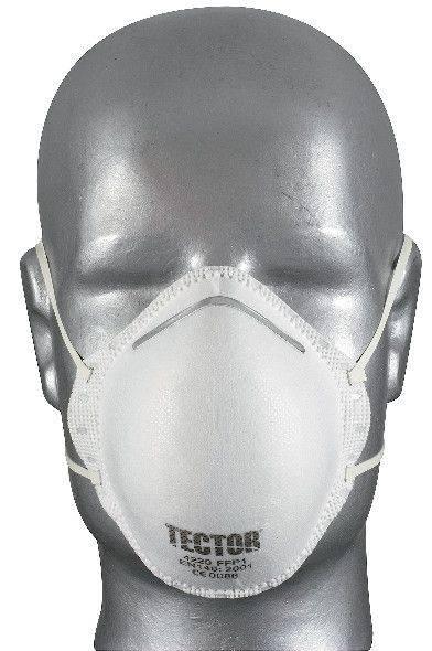 Feinstaubmaske TECTOR® P1, ohne Ausatmungsventil