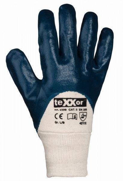 Nitril-Handschuh STRICKBUND, ¾ beschichtet