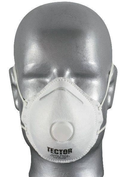 Feinstaubmaske TECTOR® P2, mit Ausatmungsventil