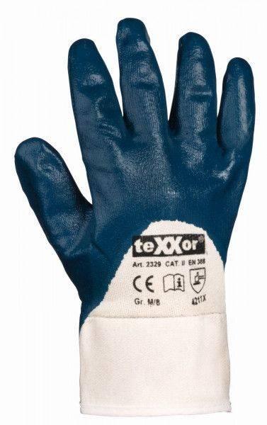 Nitril-Handschuh STULPE, ¾ beschichtet