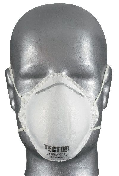 Feinstaubmaske TECTOR® P2, ohne Ausatmungsventil
