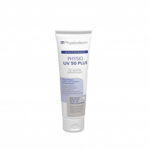 Hautschutzcreme PHYSIO UV 50 PLUS, 100-ml-Tube