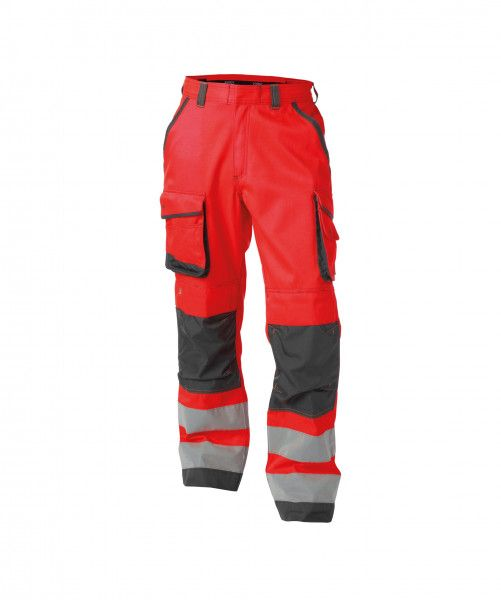 Warnschutz Bundhose mit Kniepolstertaschen CHICAGO, 290 g/m², PLUS