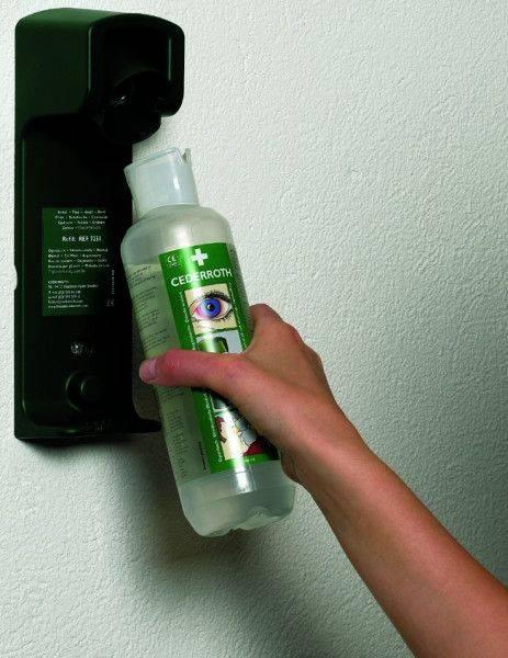 Augenspülflasche, stationär, 2 Flaschen á 500 ml