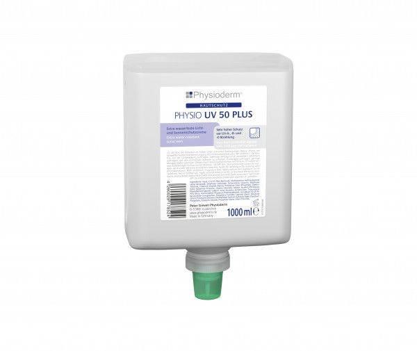 Hautschutzcreme PHYSIO UV 50 PLUS, 1-L-Neptuneflasche