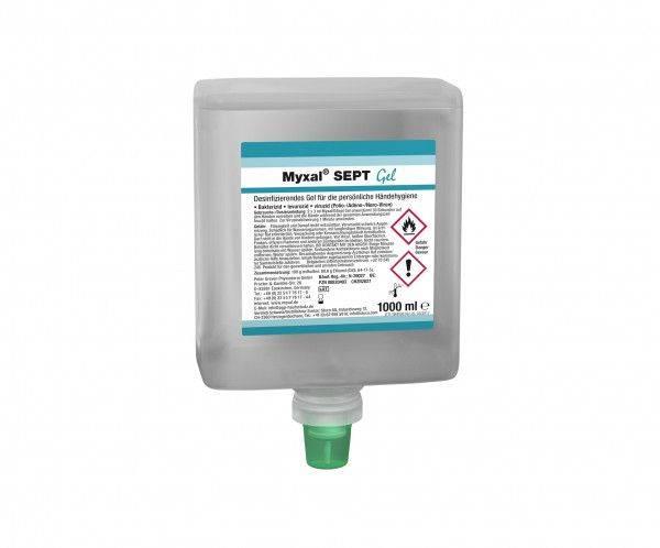Desinfektionsgel MYXAL® SEPT GEL, 1-L-Neptuneflasche