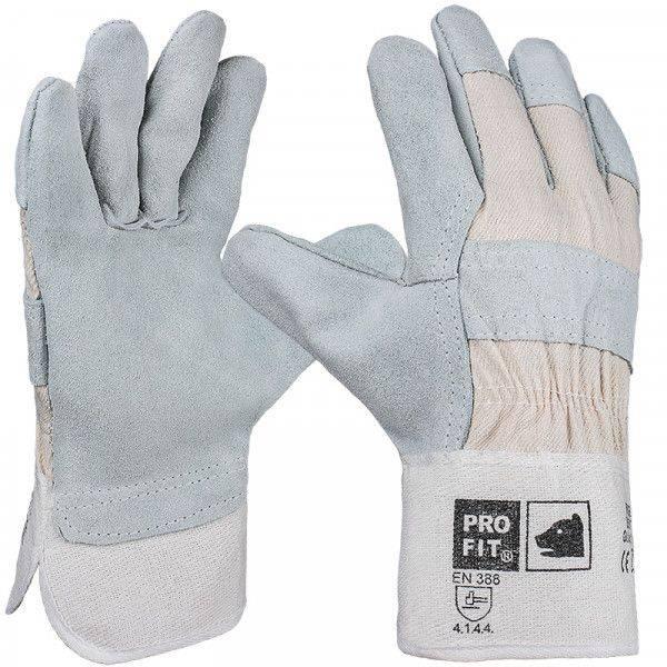 Rindspaltleder-Handschuh BRISE